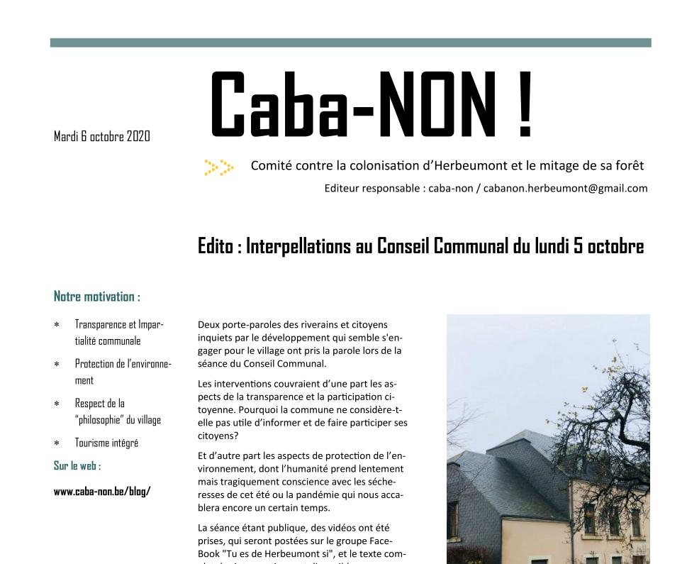 Revue Caba-NON!