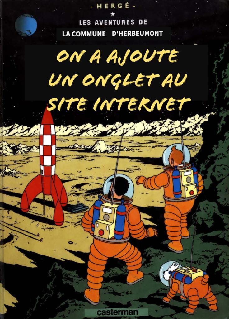 Tintin a marché sur la lune